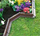 Záhradný obrubník hnedý