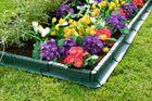 Záhradný obrubník zelený