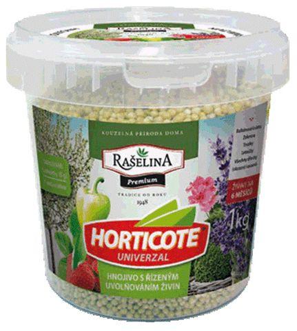 HORTICOTE - Univerzálne hnojivo s postupným uvoľňovaním živín 1 kg