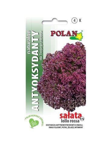 PRÍRODNÉ ANTIOXIDANTY - Šalát listový červený LOLLO ROSSA
