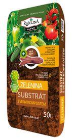 Substrát s vermikompostom pre zeleninu 50 l