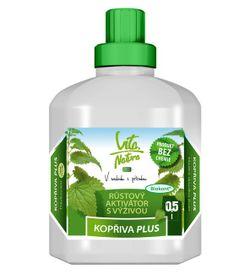 VITA NATURA - Kopriva PLUS rastový aktivátor s výživou 0,5 l